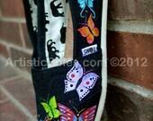 Flutterby Butterfly Custom TOMS Shoes II