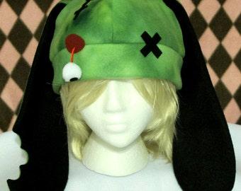 Zombie Bunny Fleece Hat