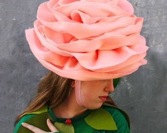 PATTERN: Rose Hat