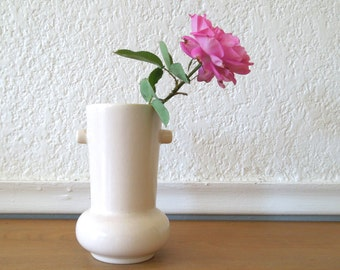Pacific Pottery Bud Vase, Pale Pink, Art Deco 1930s California Pottery