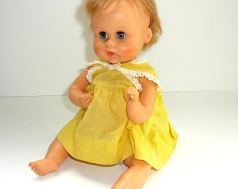 Vintage DOLL 1960s Baby Doll