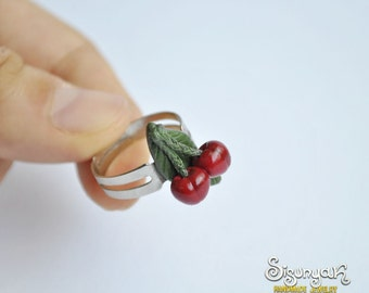 Cherry Ring - adjustable