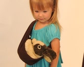 Eco Friendly Toys - Childrens Pretend Baby Sling - Doll Sling - Eco Friendly - Dress Up - Imaginative Play