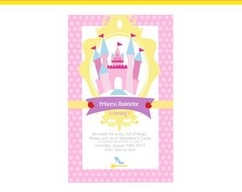 Princess Printable Invitation