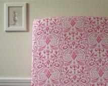 Crib Sheet - Kumari Marala in Pink - or Your Choice of Fabric