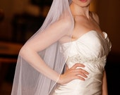 100% Silk Tulle Wedding Veil Madeline. FREE shipping