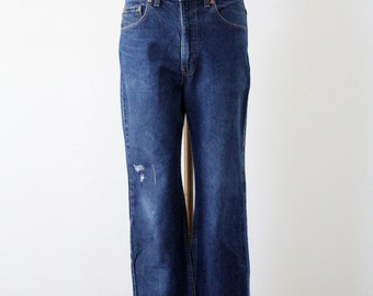FREE SHIP  vintage Levi's 517 denim jeans, waist 34