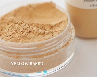 Yellow Based Powder Foundation - Mineral Powder