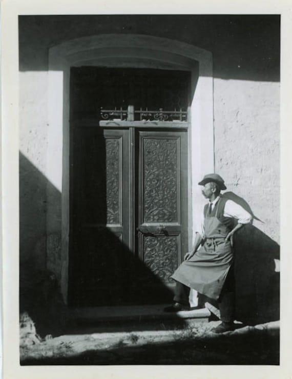 "1932 Vintage Photo ""European Business Man"", Photography, Paper Ephemera, Snapshot, Old Photo, Collectibles - JG002"