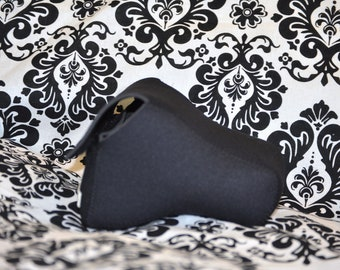 DSLR Camera Case - Black / Black Neoprene