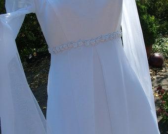Camelot Wedding dress vintage 90s renaissance bridal gown celtic dress
