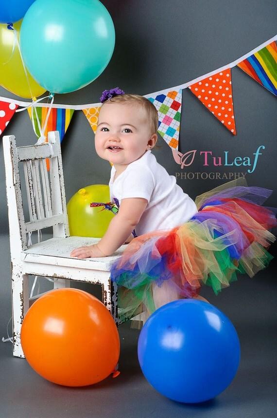 Bright Rainbow Tutu