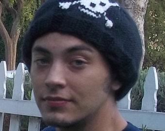 Skull and CrossBones Cap for Men
