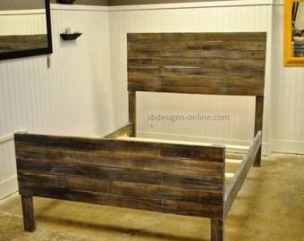 popular items for pallet bed on etsy. Black Bedroom Furniture Sets. Home Design Ideas