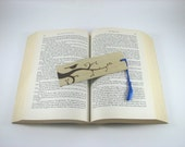 Bird Bookmark - Wood Pyrography - Wood Bookmark