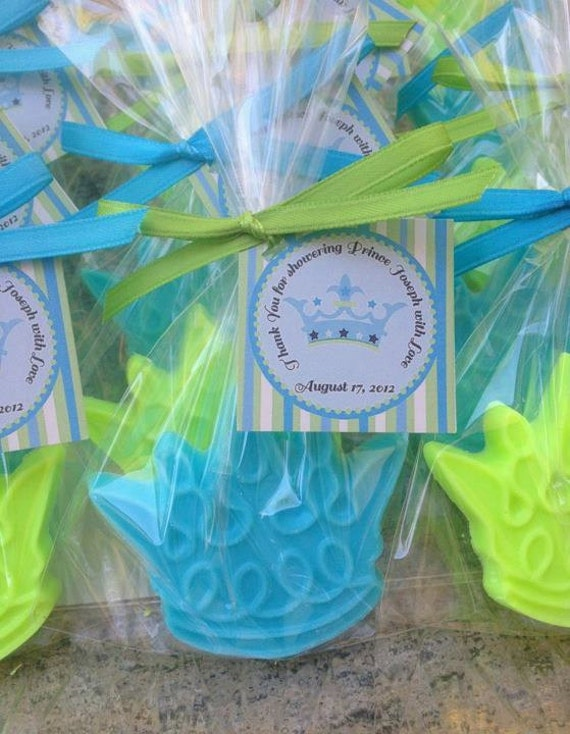10 CROWN SOAP FAVORS soaps only Prince by favorsbyangelique