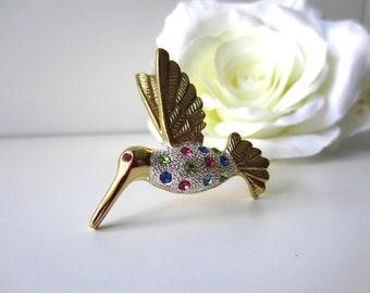 Premier Designs Hummingbird Brooch