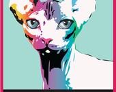 CUSTOM Pop Art Portrait (Poster)