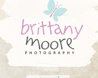 Modern logo design butterfly premade logo business branding photographer logo boutique logo ooak logos - Business Logo