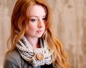 Octavia - Crochet PATTERN ONLY - Wrapped Neckwarmer