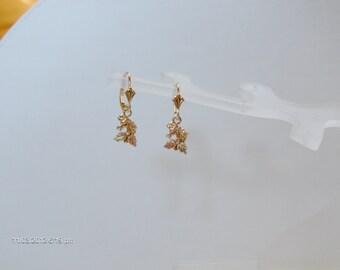 Whitaker's Black Hills Gold Petite Horse Head Earrings