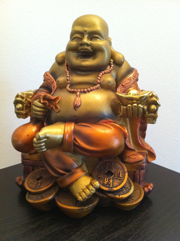 Fat buddha statue smiling buddha laughing buddha statue figure for Figur buddha