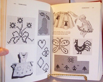 Vintage Sewing Book: Good Housekeeping, New Complete Book of Needlework, 1971