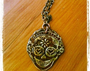 Day of the Dead Necklace Anita