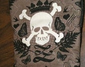 Quilted Skulls Stocking