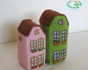 Amigurumi Aachen house - PDF pattern (Digital Download)