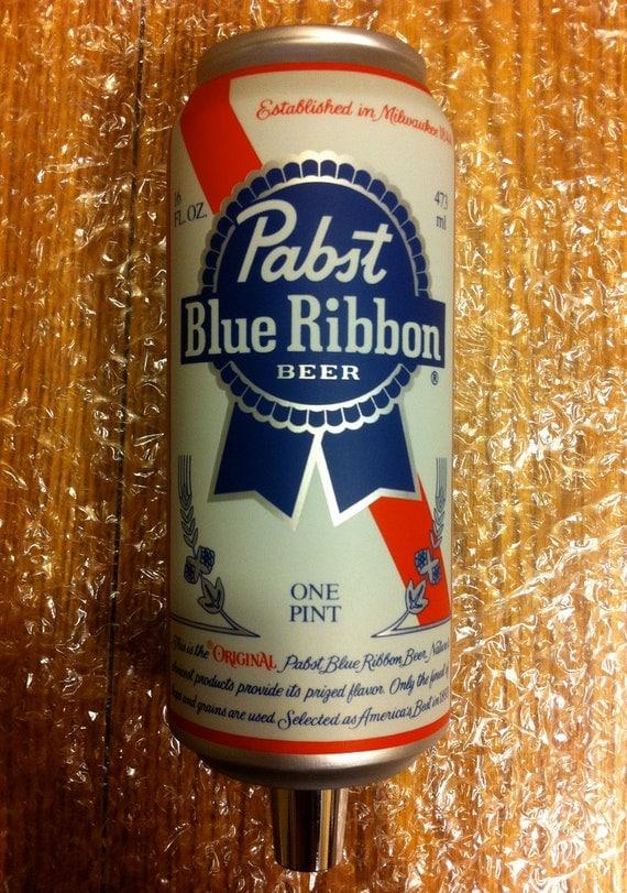 Pabst Blue Ribbon 16oz Beer Tap Handle