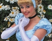 Cinderella Wig - Disney Princess inspired - Blonde Updo- Curls and Bang - Doretta's creations (MADE TO ORDER)