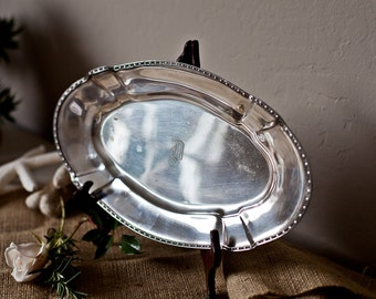 Lovely Silver Serving Dish
