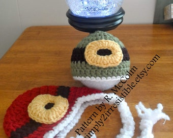 Elf or Leprechaun Hat - Crochet Pattern 42 - Newborn to Adult - us and uk Terms - INSTANT DOWNLOAD