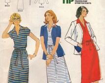 Polo Dress & Jacket Pattern Butterick 5862 Size 24 1/2