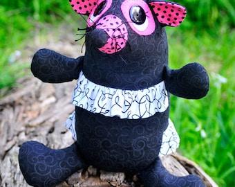 Taffy the Tasmanian devil Softie PDF Pattern