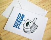 Dr. Dreidel, Dr. Dre-Del - Funny Hanukkah Card / Chanukah / Jewish Holidays Greeting Card / Hip Hop