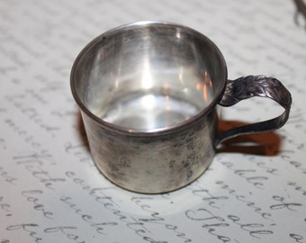 Antique Lunt Sterling Baby's Cup