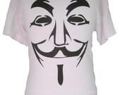 Anonymous : Guy Fawkes Mask T-Shirt V For Vendetta