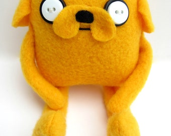 Adventure Time Jake -- Tiny Jake Plush