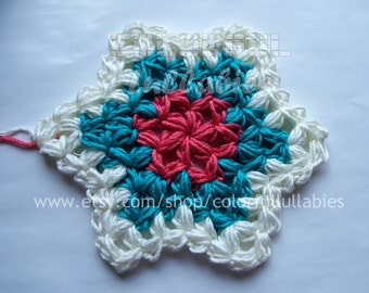 Crochet Jasmine Stitch In The Round : Sorry, this item sold. Have ColorfulLullabies make something just for ...