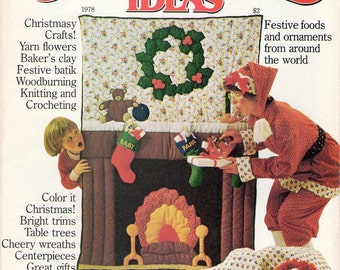 1978 Better Homes and Gardens Creative Ideas magazine Christmas Ideas issue