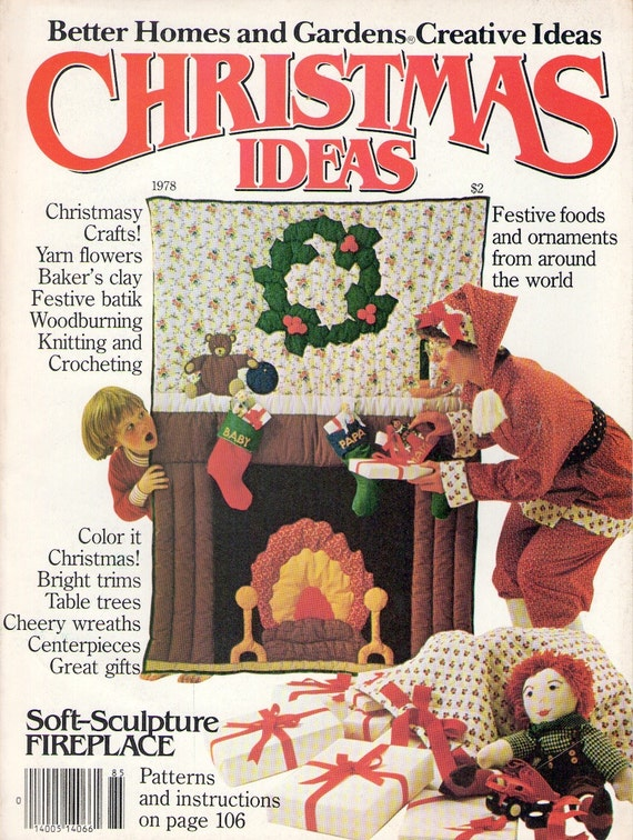 1978 Better Homes And Gardens Creative Ideas Magazine