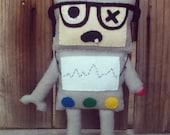 Handmade Robot Zombie Stuffed Plush