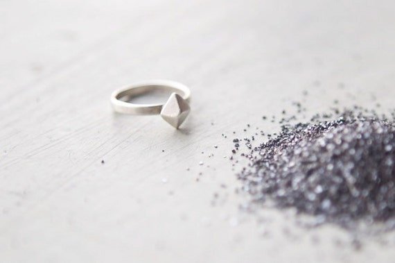 the Silver Octahedral ring