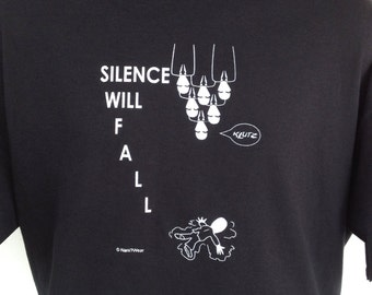 11th Doctor T-Shirt: Silence Will Fall CLEARANCE