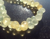 50% OFF SALE PRENITE Faceted Onion Kiss Briolette Beads 6-7mm 6 Pieces...Wedding Bridal Gemstone Beads