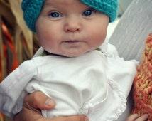 Crochet Baby Turban, Crochet baby Hat, Crochet baby photo prop