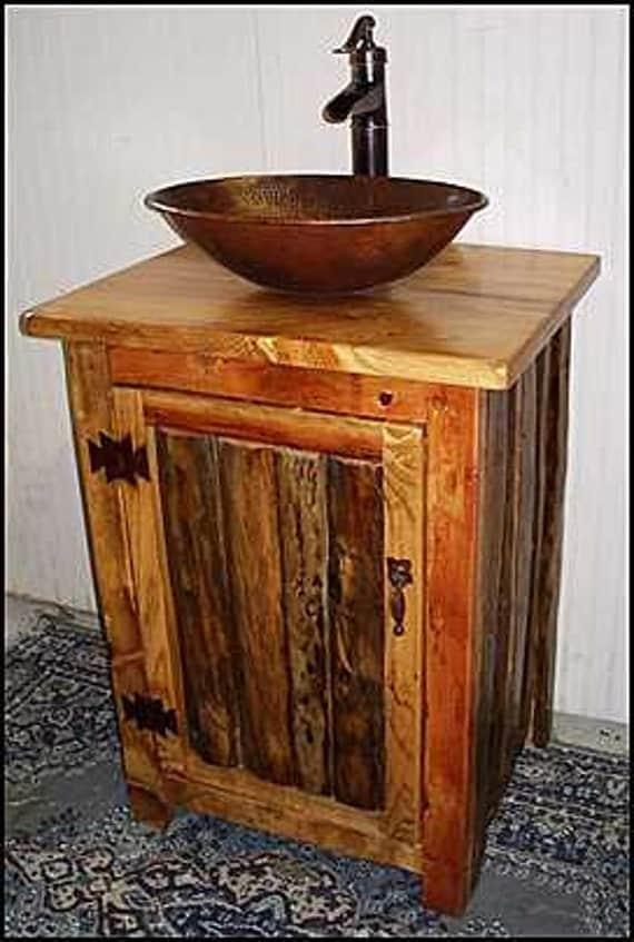 Rustic Bathroom Vanity Bronze Pump Faucet 25 By Cantonantiques