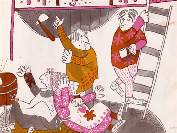 RESERVED - The Three Sillies - A Folk Tale illustrated by Margot Zemach